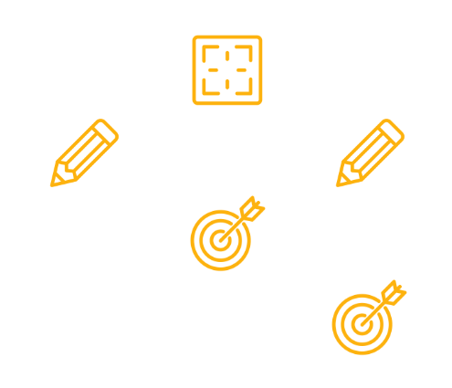 Multi-location project management software time dependency icons