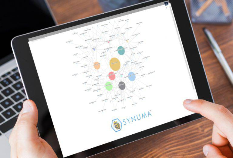 iPad with Synuma CRM platform to manage franchisee prospects